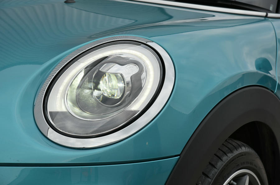 Mini Convertible headlights