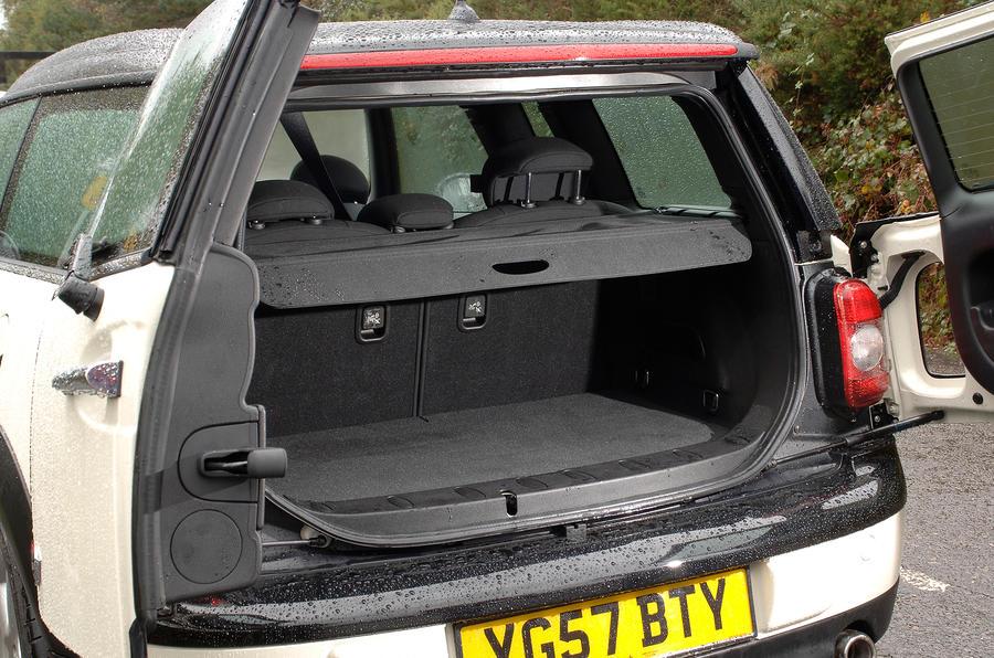 Mini Clubman boot space