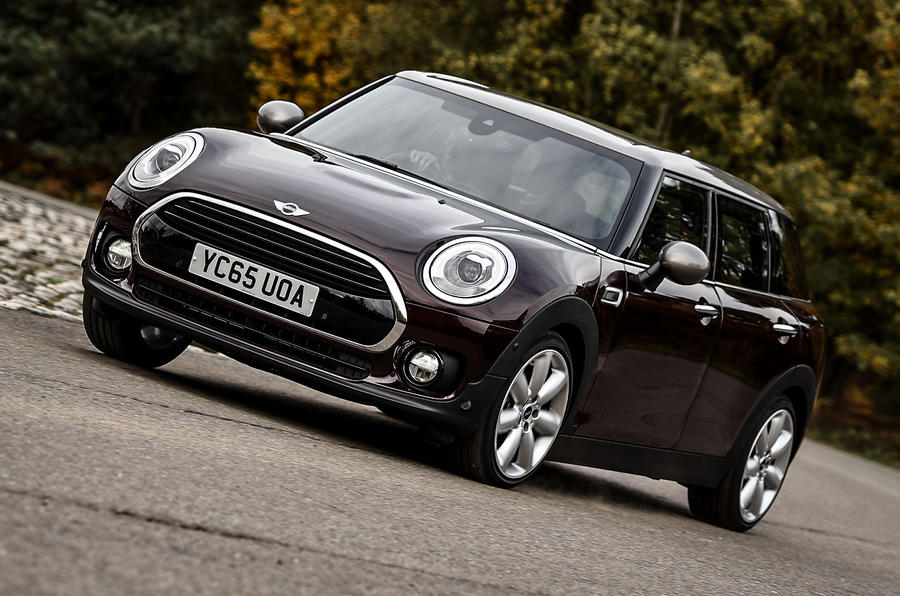 Mini Clubman cornering