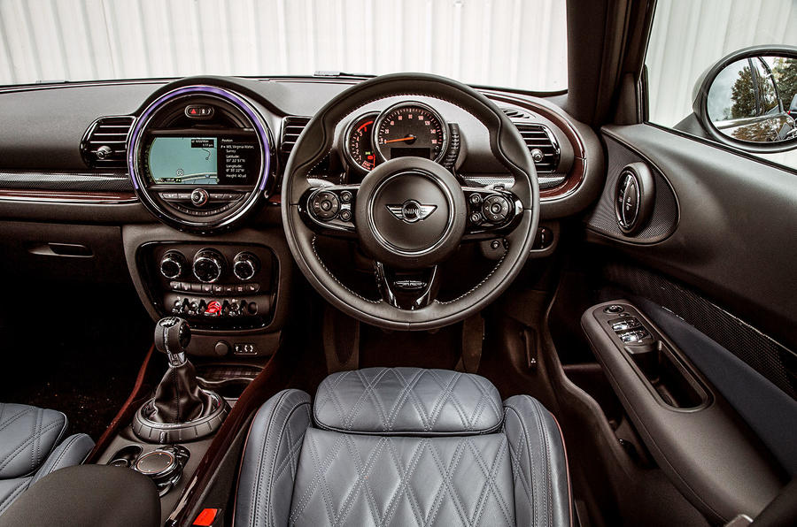 Inside the second generation Mini Clubman's interior