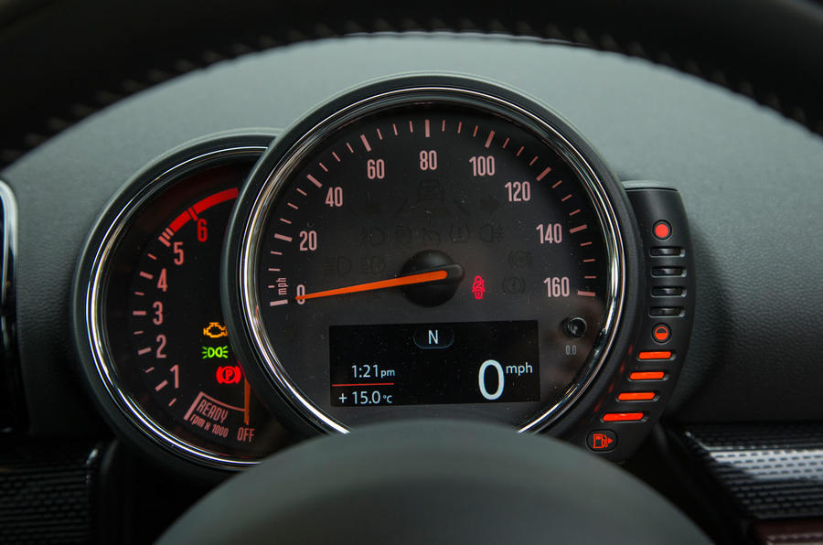 A look at the revamped Mini Clubman's instrument cluster