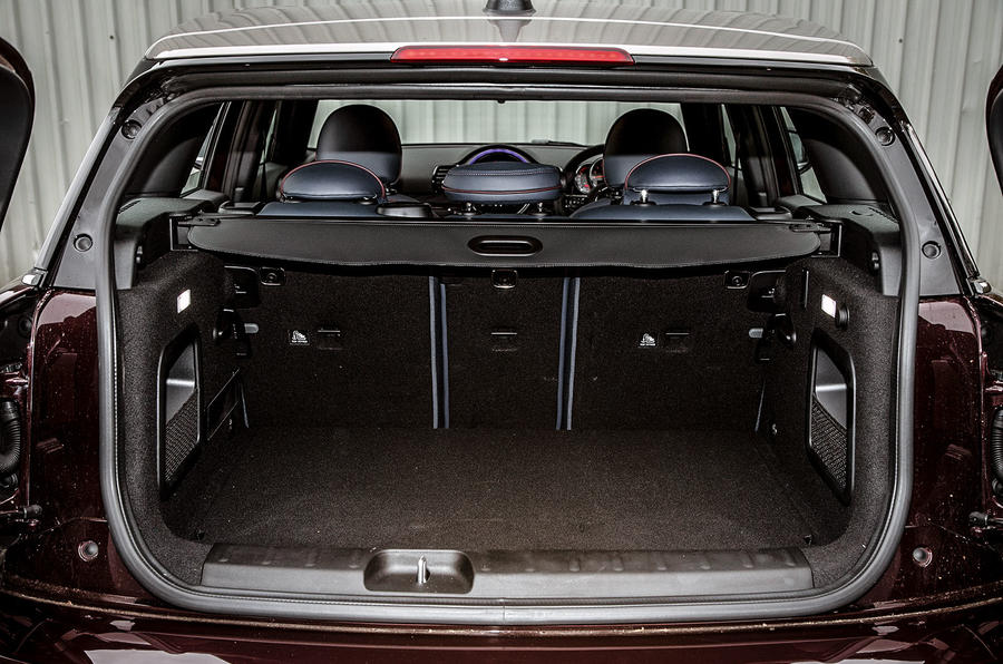 The Mini Clubman is as practical as most full sized hatchbacks