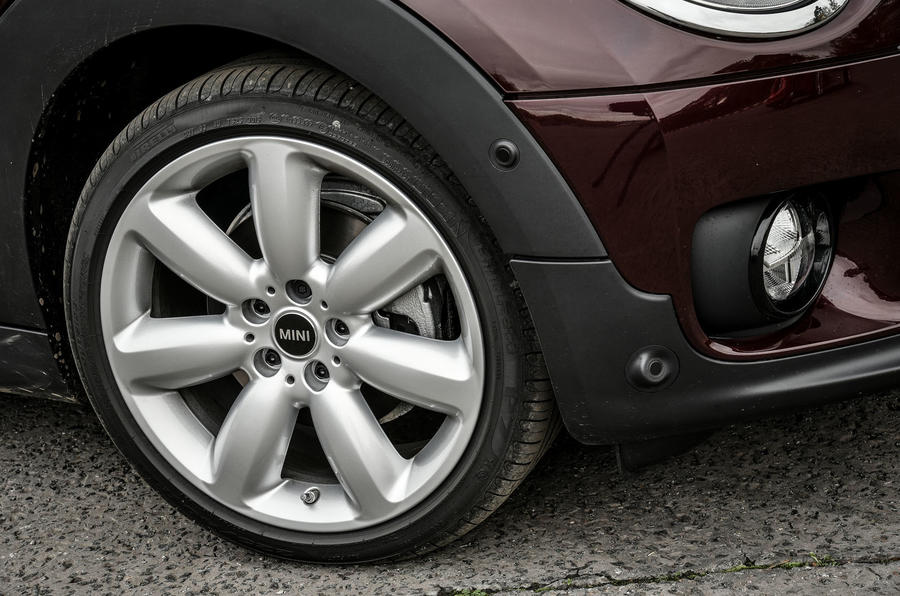 18in alloys will be a common fit on the Mini Clubman