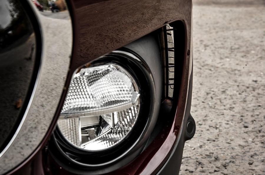 Mini Clubman foglights