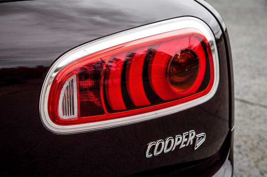 Tail-lights are fitted to the door on the second gen Mini Clubman