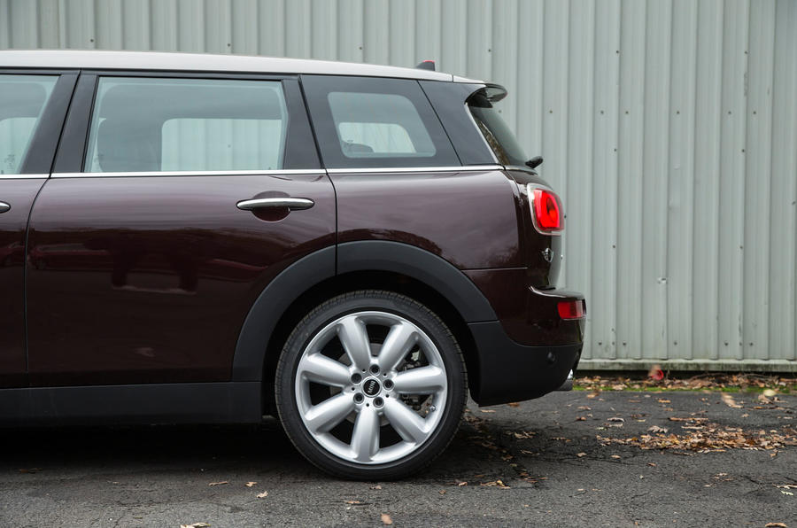 Mini Clubman rear end