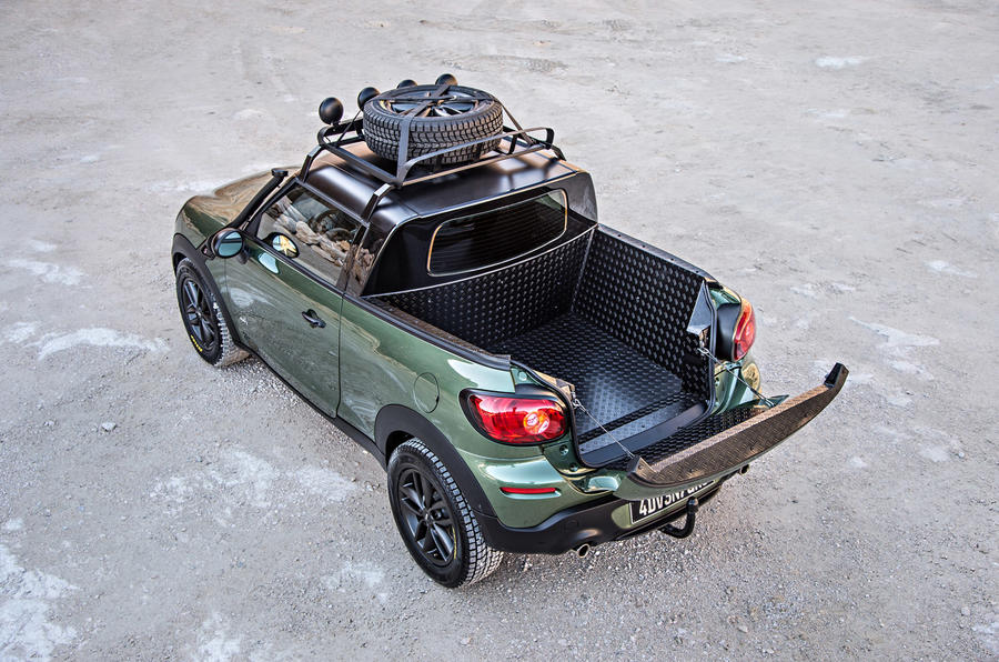 Mini reveals Paceman Adventure pick-up concept