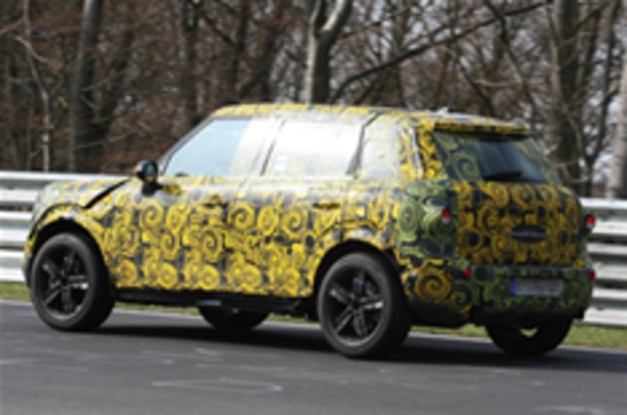 Mini SUV is 'on track'