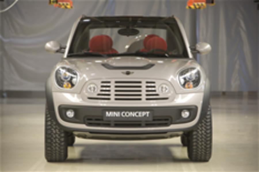Mini Countryman may be WRC car