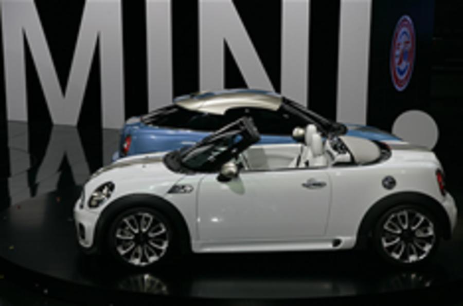 Frankfurt motor show: Mini Roadster