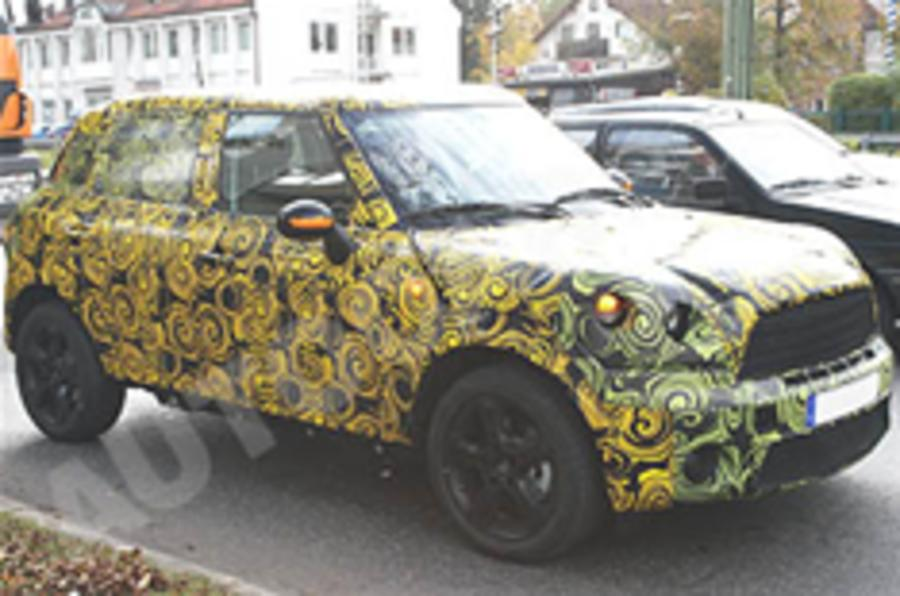 Spied: Mini Cross