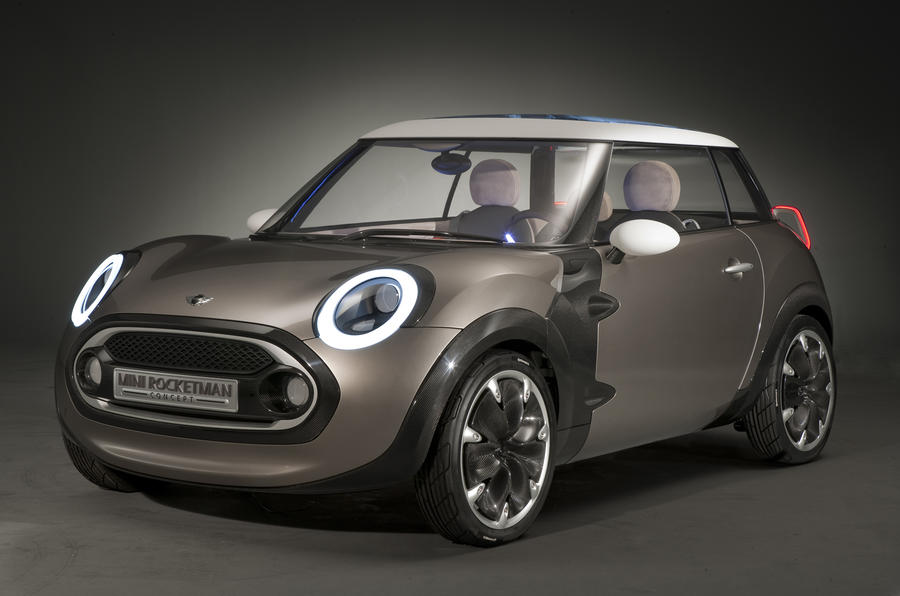 Geneva motor show: Mini Rocketman