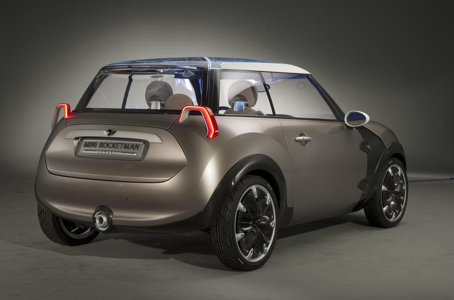 Geneva motor show: Mini Rocketman