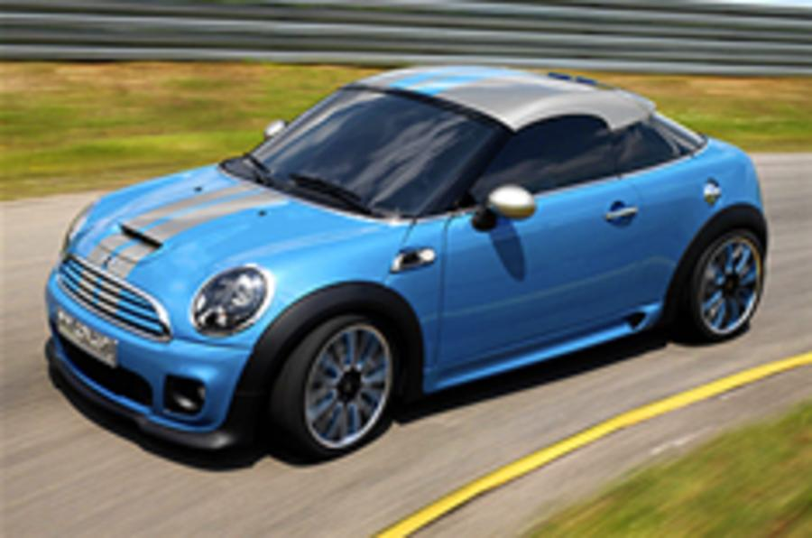 Mini Coupe Concept on video