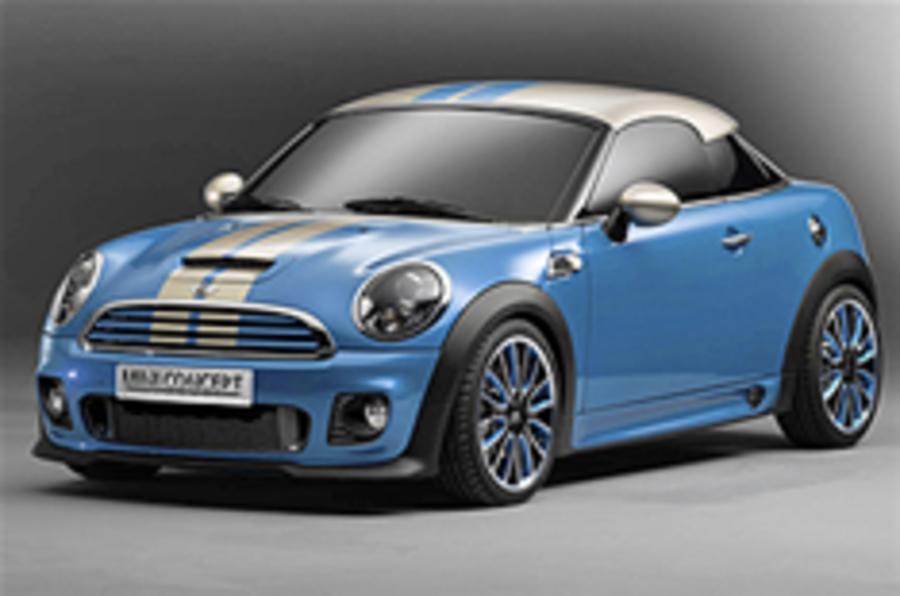 Frankfurt motor show: Mini Coupe Concept