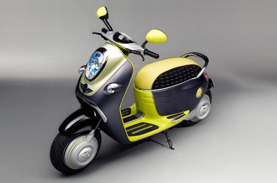 Paris motor show: Mini Scooter E