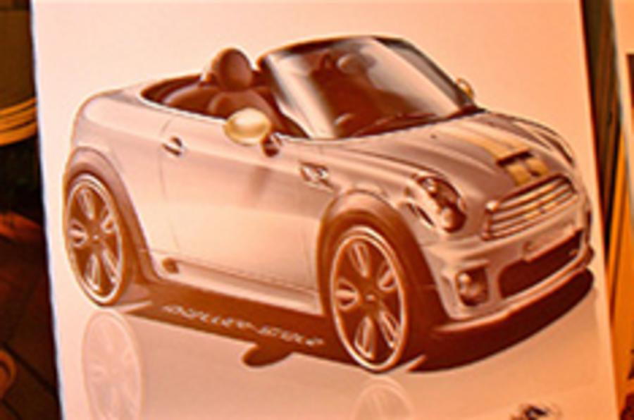 Mini Roadster spied