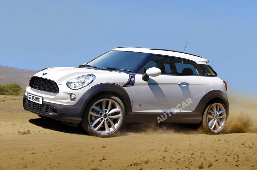 Mini Countryman Coupe revealed