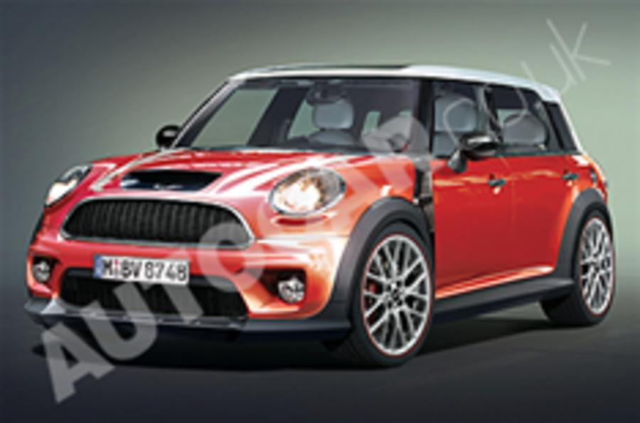 Mini's Golf GTI rival