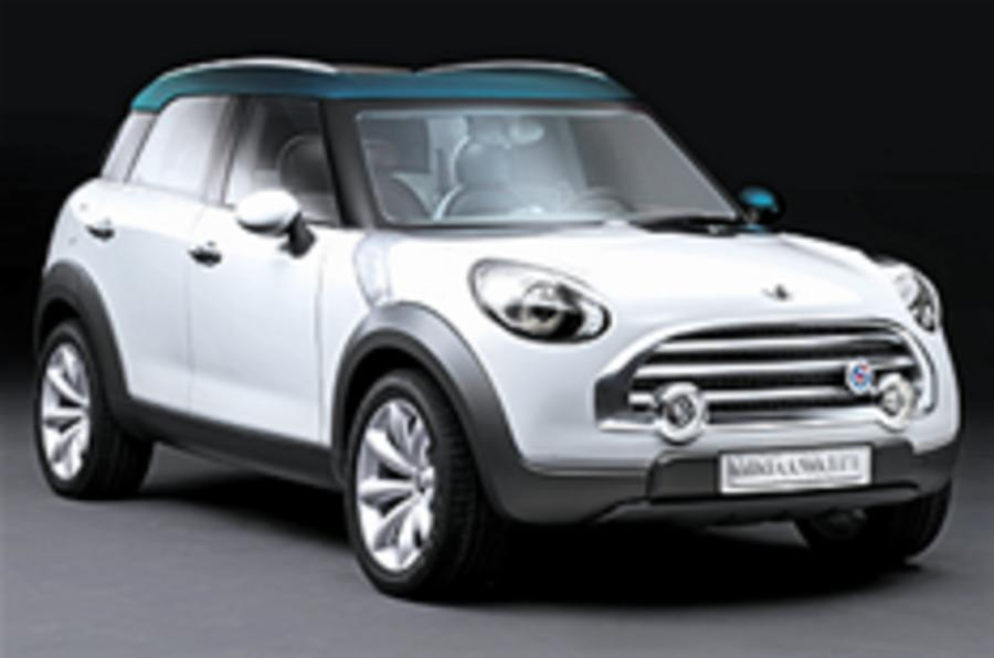 In detail: Mini Crossover concept