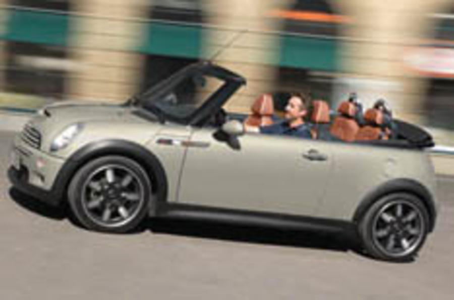 Mini announces run-out convertibles