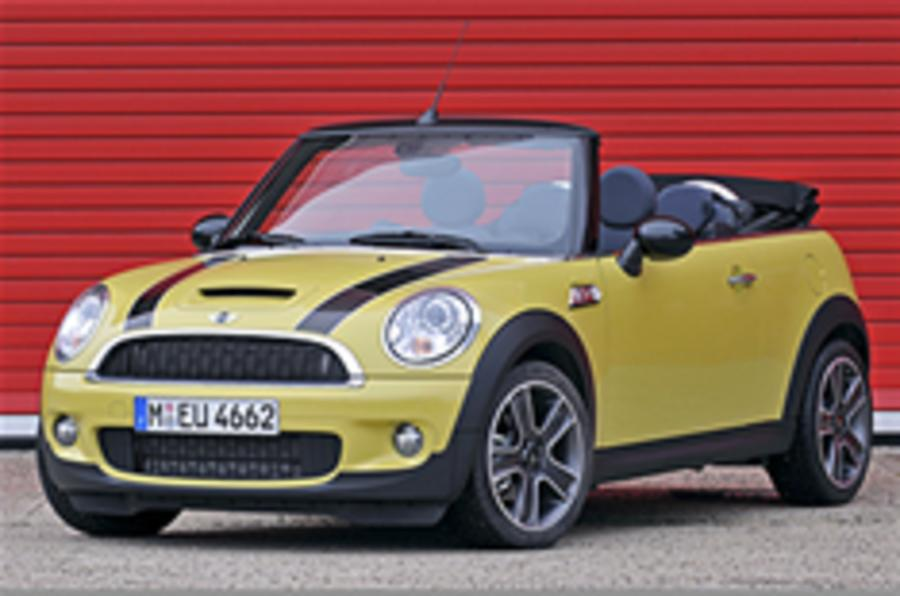 jcw confirms mini cabrio launch autocar. Black Bedroom Furniture Sets. Home Design Ideas