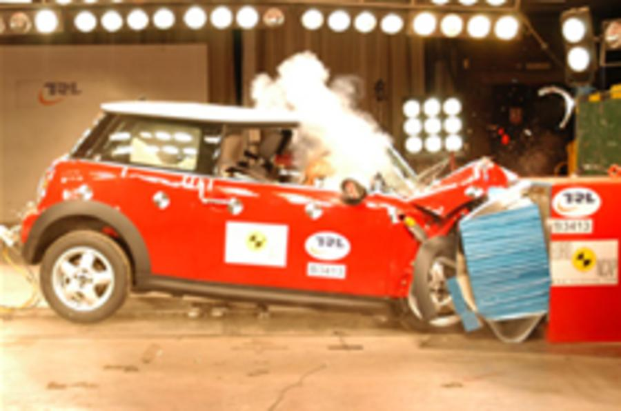Max crash test score for Mini