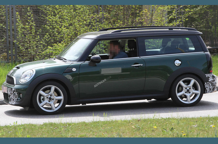 New Mini Cooper S pictured