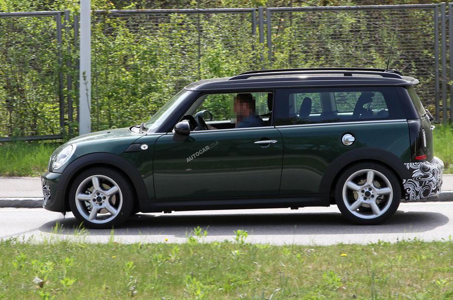 New Mini Cooper S pictured