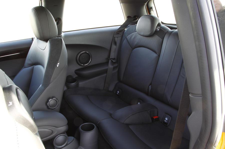 Mini Cooper S rear seats