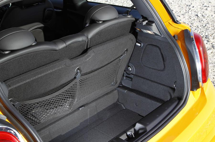 Mini Cooper S boot space