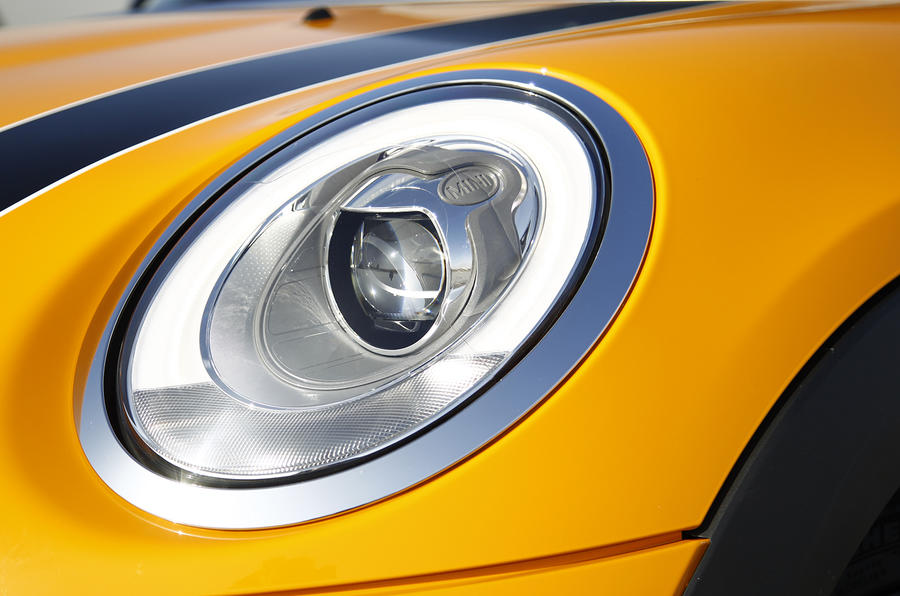 Mini Cooper S LED headlights