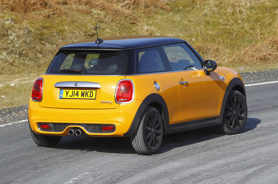 Mini Cooper S rear cornering
