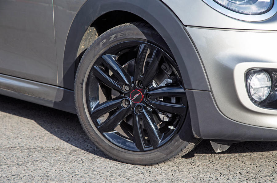 Mini Cooper S Works 210 alloy wheels