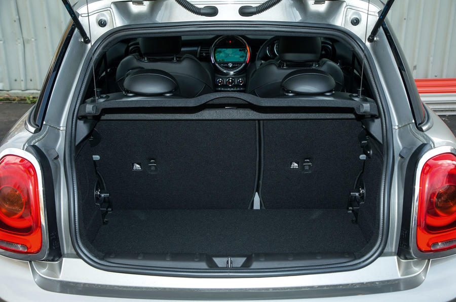 Mini Cooper S Works 210 boot space