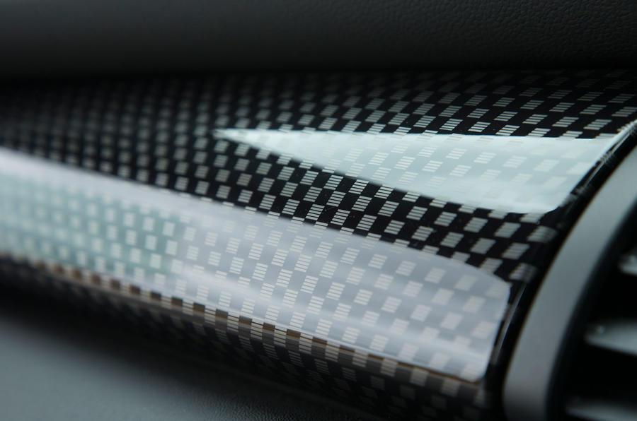 Mini Cooper S Works 210 carbonfibre dash trim