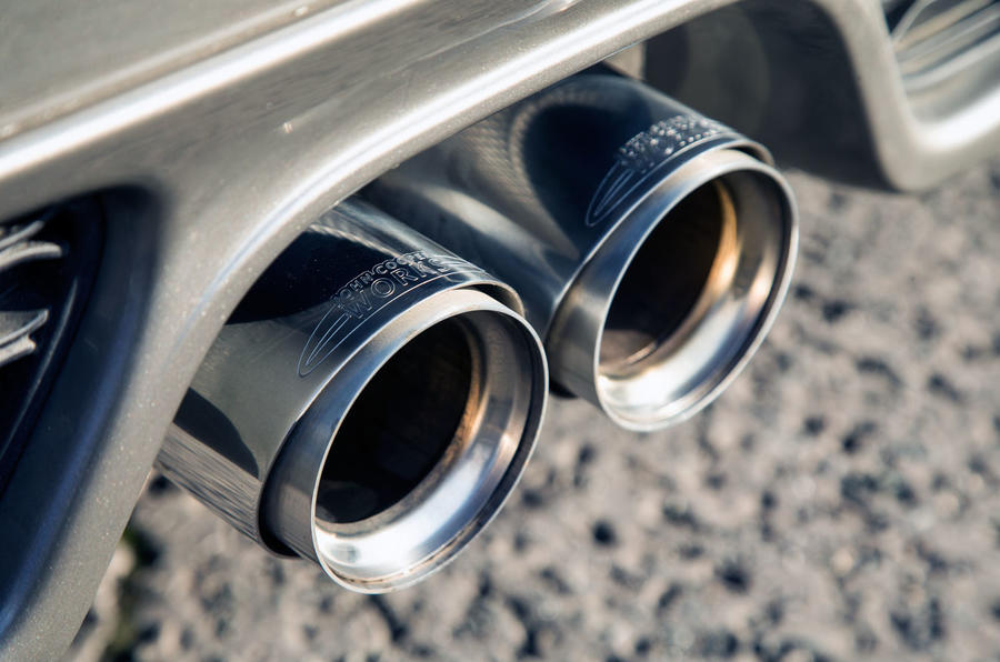 Mini Cooper S Works 210 dual exhaust system