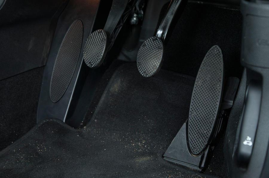 Mini Cooper S Works 210 pedal box
