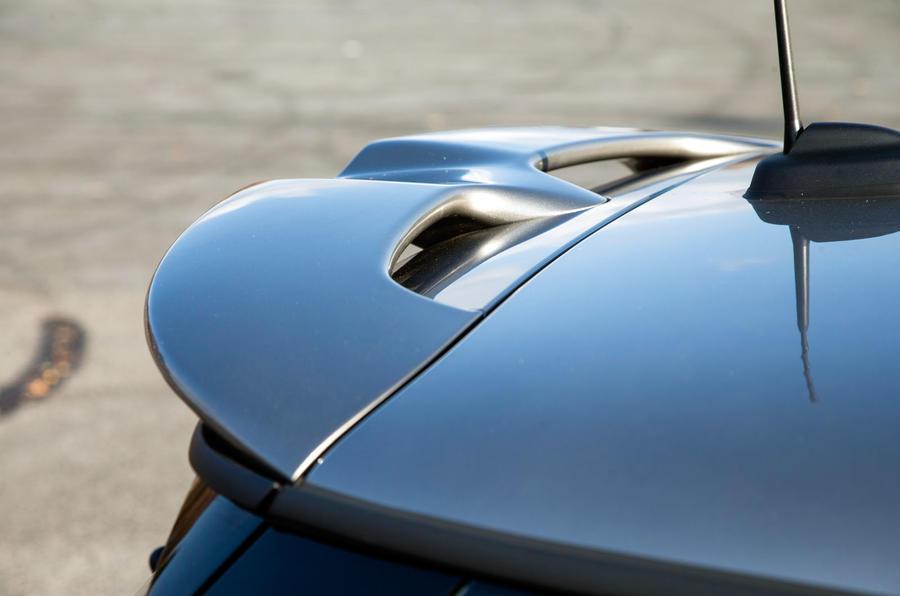 Mini Cooper S Works 210 rear spoiler