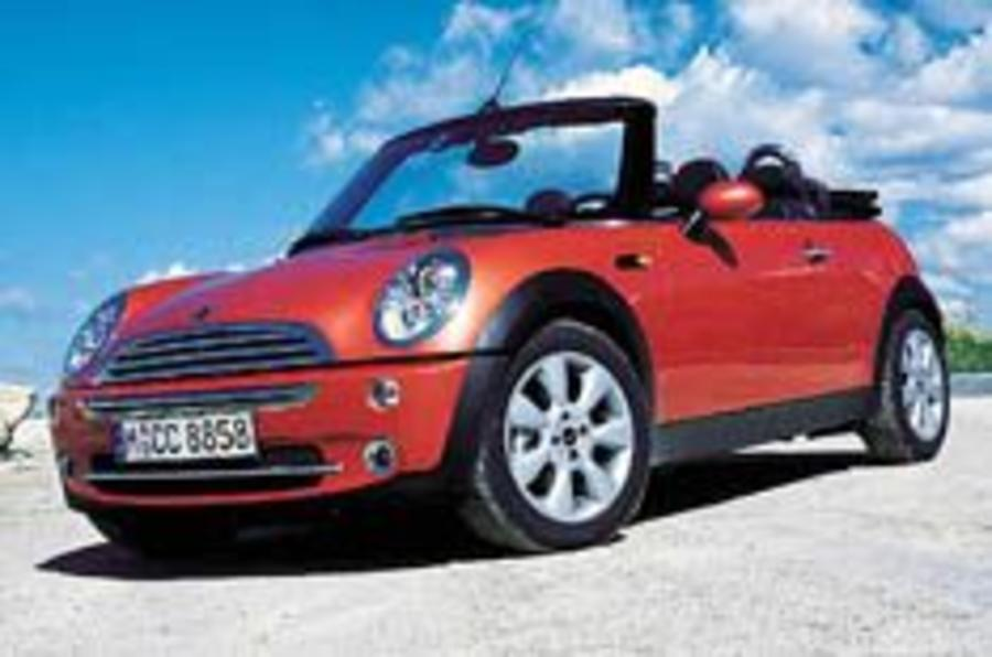 Mini Convertible prices rock-solid