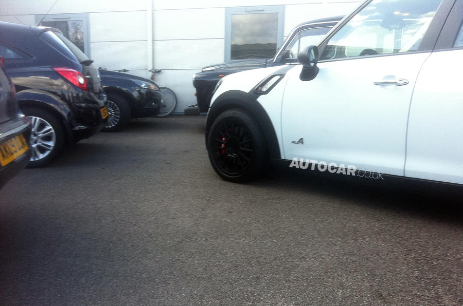 Mini's hot Prodrive Countryman