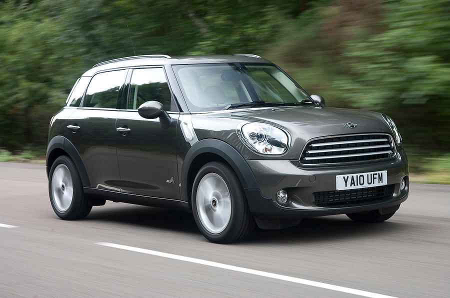 Mini Countryman front quarter
