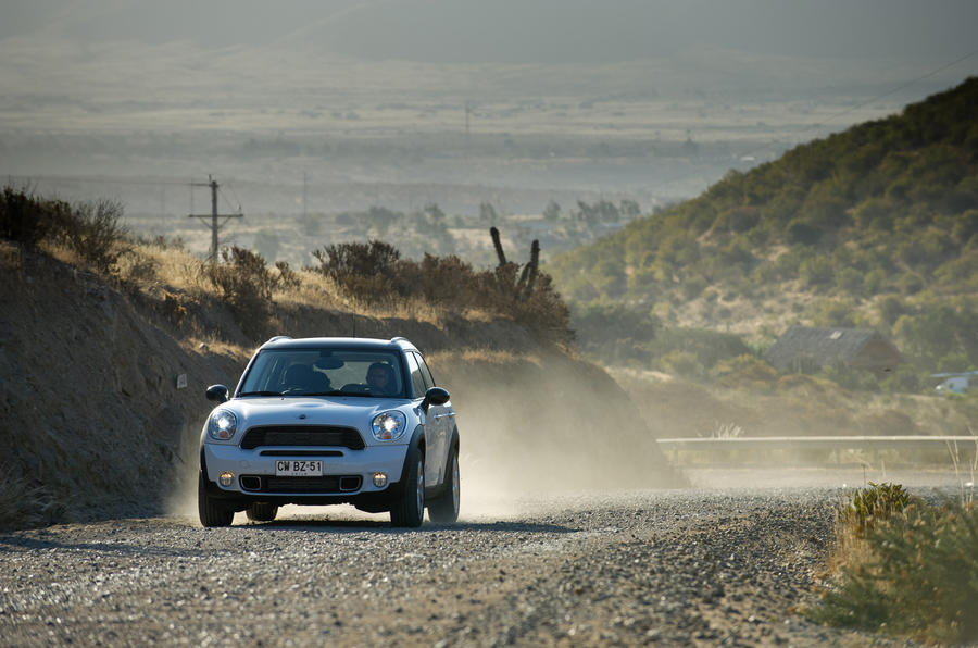 Mini Countryman - Chile road trip