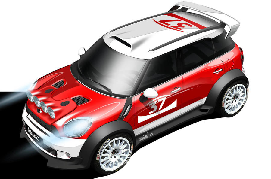 Mini returns to the WRC