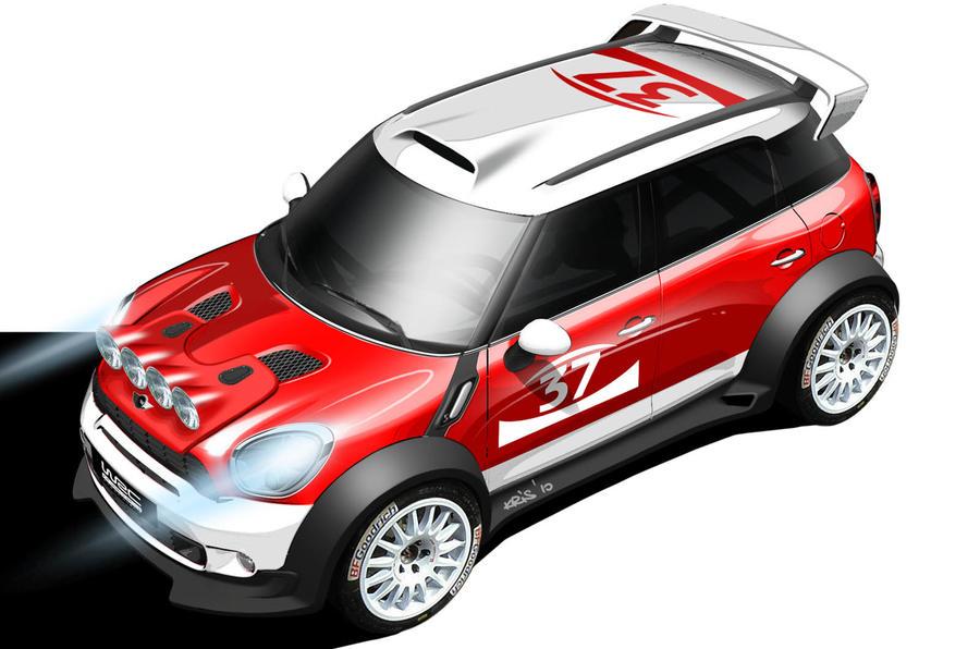 Mini returns to the WRC