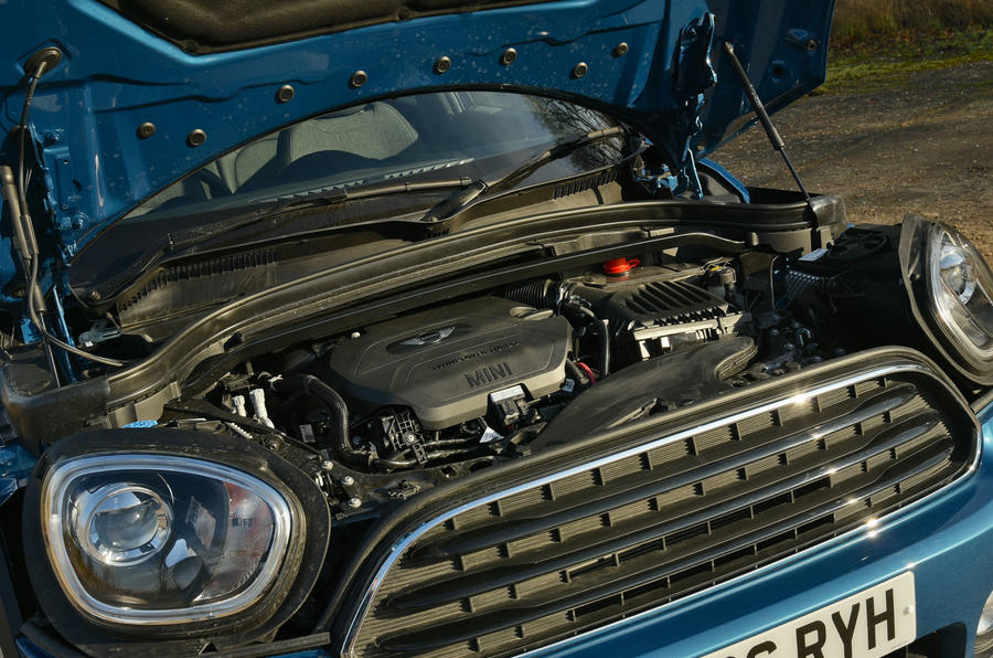 2.0-litre Mini Countryman diesel engine