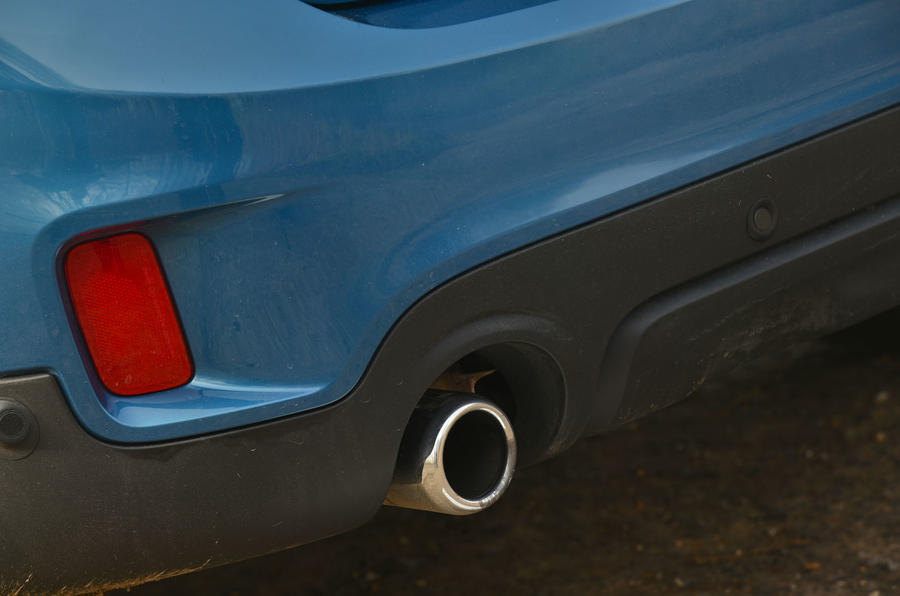 Mini Countryman exhaust system