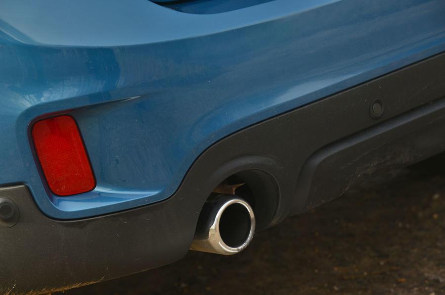 Mini Countryman exhaust system