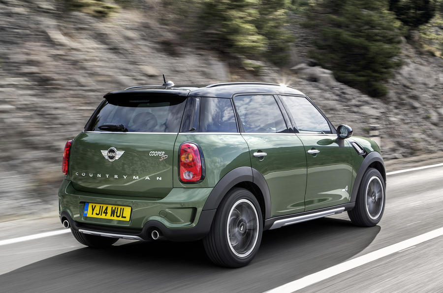 Minor changes for revised Mini Countryman