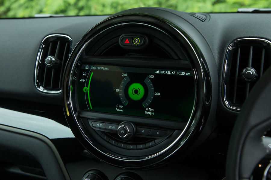 Mini Countryman S E All4 hybrid information